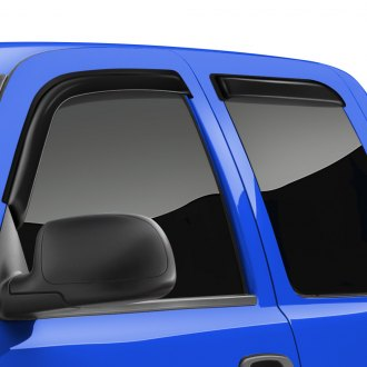 TrailFX® - Tape-On Smoke Front and Rear Window Vents