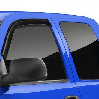 TrailFX® - Tape-On Smoke Front Window Vents