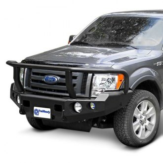 TrailReady® - Full Width Front HD Winch Bumper with Grille Guard