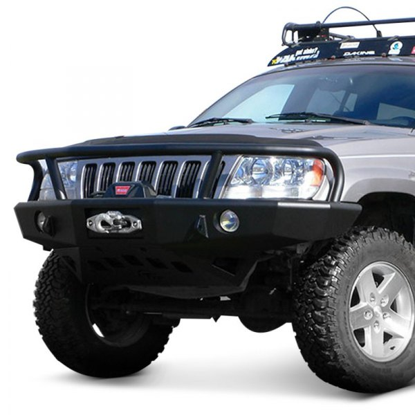 Jeep Grill Guards And Bumpers : Trailready jeep grand cherokee full width black