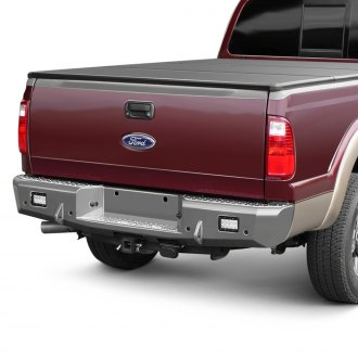 TrailReady® - Full Width Black Rear HD Bumper