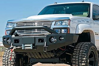 TrailReady® - Black Powder Coated Front Bumper with Pre-Runner Guard