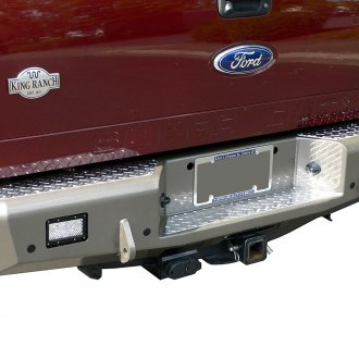 TrailReady® - Black Powder Coated Rear Bumper with D-Ring Mounts