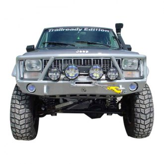 TrailReady® - Black Powder Coated Front Bumper with Full Guard