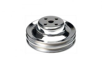 TRANS-DAPT® - Chrome Water Pump Pulley