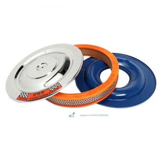 "Trans-Dapt® - Factory Style Chrome Air Cleaner Assembly (14"" x 2"")"