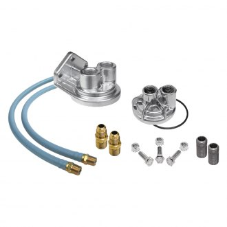 "Trans-Dapt® - 2-1/2"" 13/16""-16 Single Oil Filter Relocation Kit"