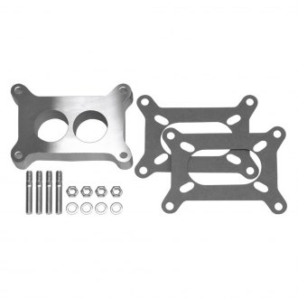 "Trans-Dapt® - 1"" 2-Hole Cast Aluminum Carburetor Spacer"