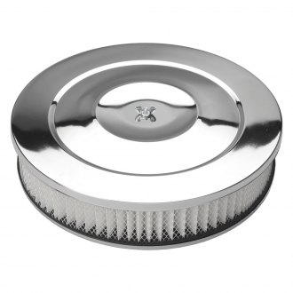 Trans-Dapt® - Performance Style Chrome Air Cleaner Kit with Paper Filter