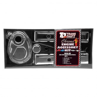 Trans-Dapt® - Chrome Engine Dress Up Kit