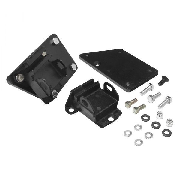 Trans Dapt 4592 Engine Swap Motor Mounts With Rubber Pads