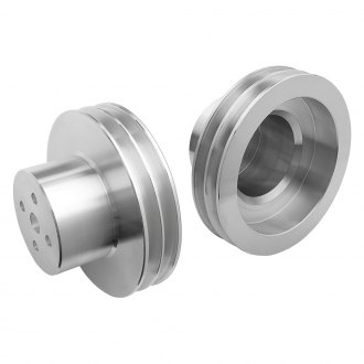 "Trans-Dapt® - 3-1/4"" Machined Aluminum Water Pump Pulley"