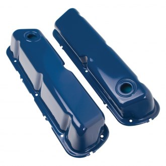 Trans-Dapt® - Stock Blue Powder Coated Valve Cover
