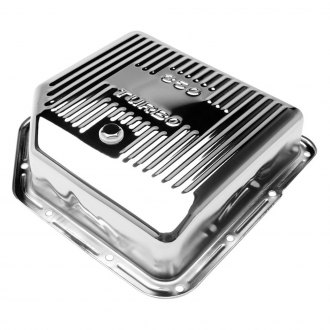 Trans-Dapt® - Finned Chrome Steel Transmission Pan