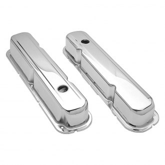Trans-Dapt® - Traditional Short Chrome Valve Covers