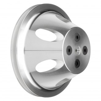 "Trans-Dapt® - 3"" Machined Aluminum Water Pump Pulley"