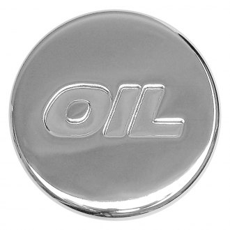 Trans-Dapt® - Push-In Style Chrome Oil Cap
