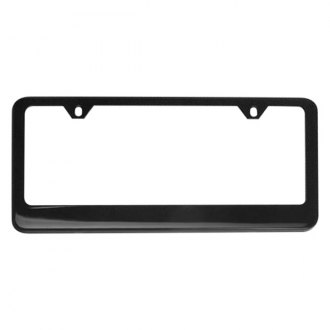 Trans-Dapt® - Executive Black License Plate Frame