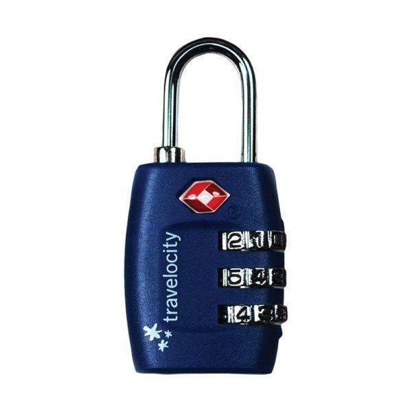 Travelocity 174 Tvlk3 Nv 3 Dial Tsa Combination Lock Navy