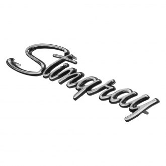 Trim Parts® - Stingray Front Fender Emblem