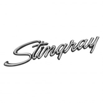 "Trim Parts® - ""Stingray"" Front Fender Emblem"