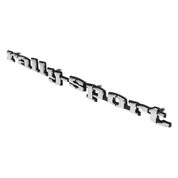 NEW Trim Parts 6765B 1969 Camaro Black Front Grille Bow Tie Emblem