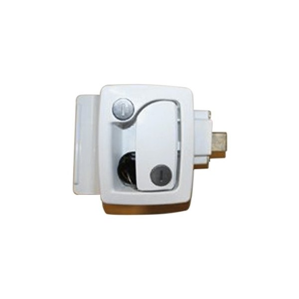Trimark 174 60251wht Entry Door Latch White Camperid Com