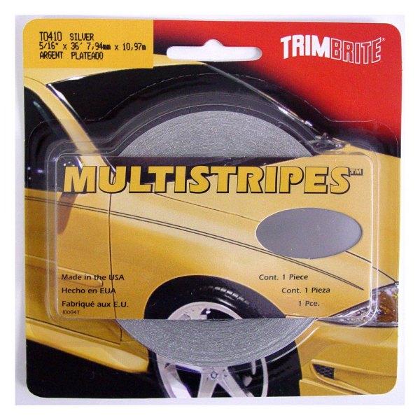 "Trimbrite® T0410 - 5/16"" x 36' Silver Multistripe ..."