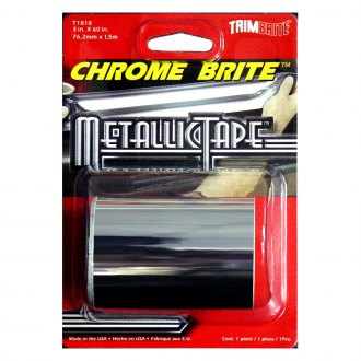 "Trimbrite® - 3"" x 5' Silver Chrome Brite™ Multi Purpose Foil Tape"