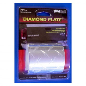 "Trimbrite® - 3"" x 6' Diamond Plate Film"