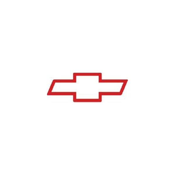 Trimbrite® - Red Chevy Bowtie Design Magnet Decal