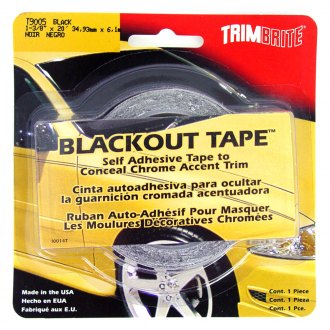 "Trimbrite® - 1 3/8"" x 20' Black-Out™ Tape"