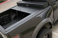 Truck Covers USA - American Roll Black Tonneau Cover