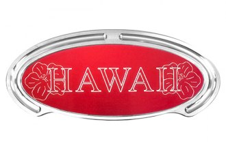 Truck Covers USA® - American Spring Step - Oval Artwork Hawaii