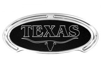 Truck Covers USA® - American Spring Step - Oval Artwork Texas Longhorn