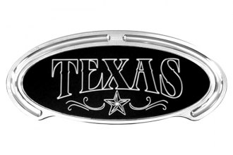 Truck Covers USA® - American Spring Step - Oval Artwork Texas & Star Lined