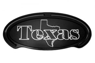 Truck Covers USA® - American Spring Step - Oval Artwork Texas State Outline