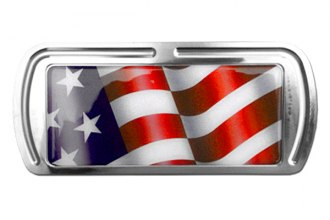 Truck Covers USA® - American Spring Step - Rectangular Artwork American Flag