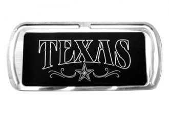 Truck Covers USA® - American Spring Step - Rectangular Artwork Texas & Star Lined