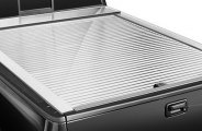 Truck Covers USA® CR-261-W - American Roll White Tonneau Cover (6' Bed)
