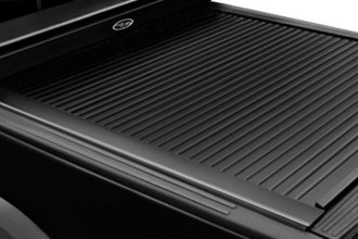 Truck Covers USA® CR-205-TBJ-B - American Work Jr. Black Tonneau Cover (Stepside 6.5' Bed)