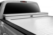 Truck Covers USA® - White American Work Jr. Tonneau Cover