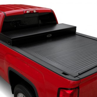 Truck Covers USA® - American X-Box Work Tool Box Retractable Tonneau Cover
