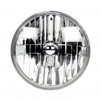 "Truck-Lite® - 7"" Round Chrome Euro Headlight"