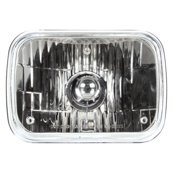 "Truck-Lite® - 7x6"" Rectangular Chrome Euro Headlight"