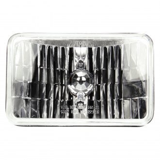 "Truck-Lite® - 4x6"" Rectangular Chrome Crystal Headlight"