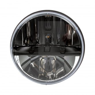 "Truck-Lite® - 7"" Round Chrome LED Euro Headlight"
