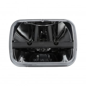 "Truck-Lite® - 7x6"" Rectangular Black LED Headlight"