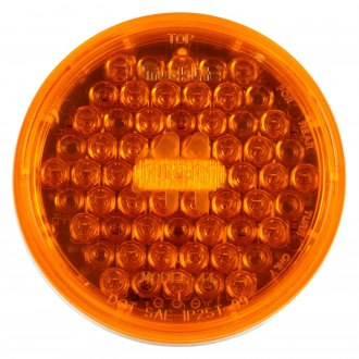Truck-Lite® - Yellow Round Super 44 Rear Turn Signal Light, 42 LED