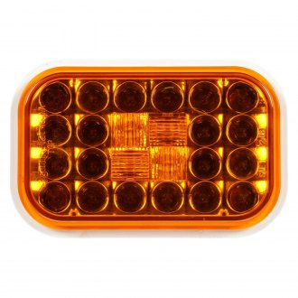 Truck-Lite® - Yellow Rectangular Signal-Stat Rear Turn Signal Light, 24 LED